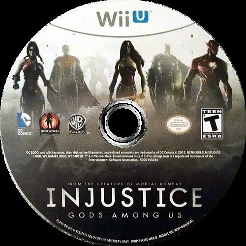 Injustice: Gods Among Us WiiU discM (AJSEWR)