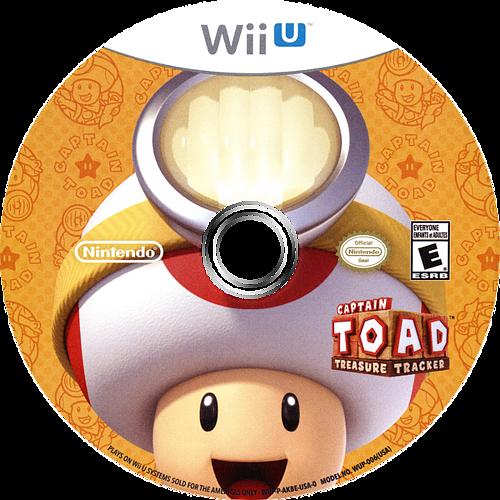 Captain Toad: Treasure Tracker WiiU discM (AKBE01)