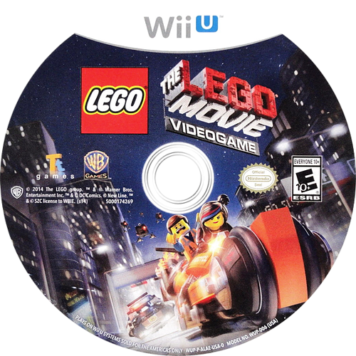 The LEGO Movie Videogame WiiU discM (ALAEWR)
