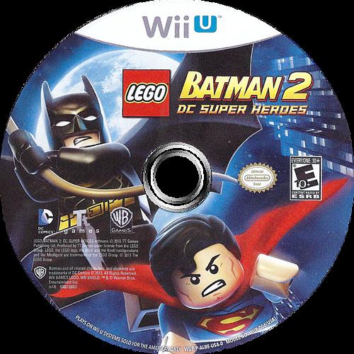 LEGO Batman 2: DC Super Heroes WiiU discM (ALBEWR)