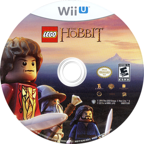 LEGO The Hobbit WiiU discM (ALHEWR)