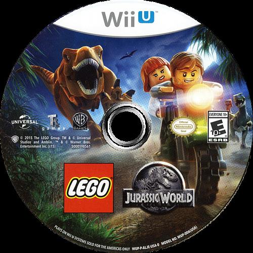 LEGO Jurassic World WiiU discM (ALJEWR)
