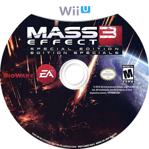 Mass Effect 3: Special Edition WiiU discM (AMEE69)