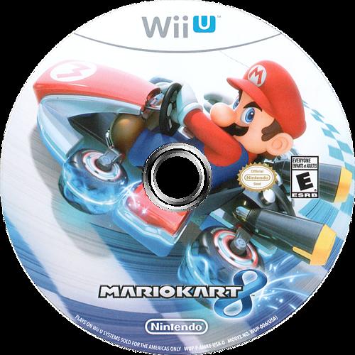 Mario Kart 8 WiiU discM (AMKE01)