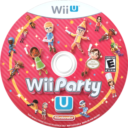 Wii Party U WiiU discM (ANXE01)