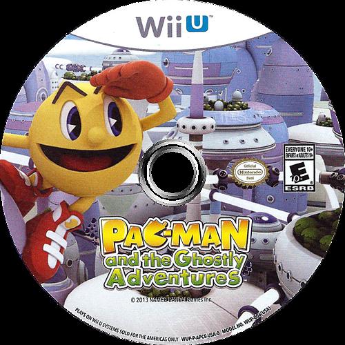 Pac-Man and the Ghostly Adventures WiiU discM (APCEAF)