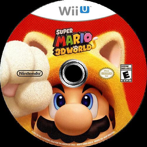 Super Mario 3D World WiiU discM (ARDE01)