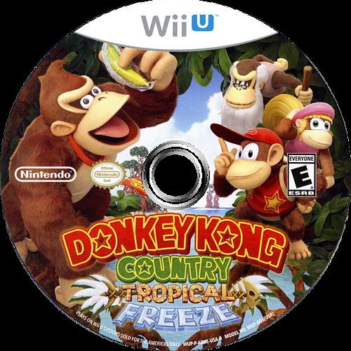 Donkey Kong Country: Tropical Freeze WiiU discM (ARKE01)