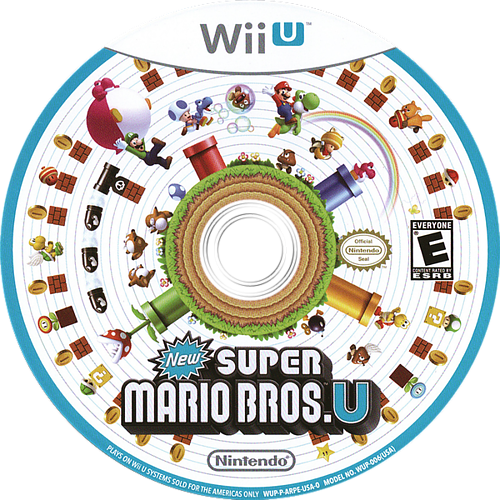 New Super Mario Bros. U WiiU discM (ARPE01)