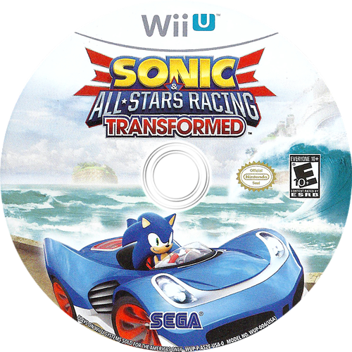 Sonic & All-Stars Racing Transformed WiiU discM (AS2E8P)
