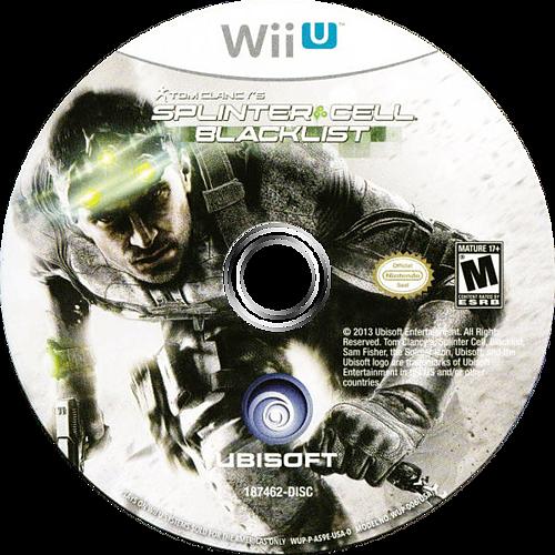 Tom Clancy's Splinter Cell Blacklist WiiU discM (AS9E41)