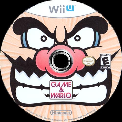 Game & Wario WiiU discM (ASAE01)