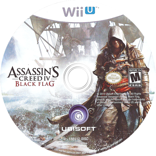 Assassin's Creed IV: Black Flag WiiU discM (ASBE41)