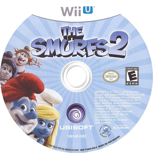 The Smurfs 2 WiiU discM (ASUE41)