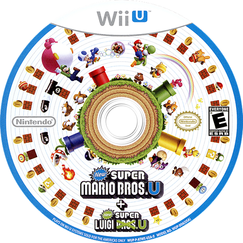 New Super Mario Bros. U + New Super Luigi U WiiU discM (ATWE01)