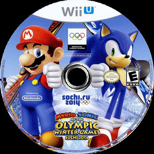 Mario & Sonic at the Sochi 2014 Olympic Winter Games WiiU discM (AURE01)