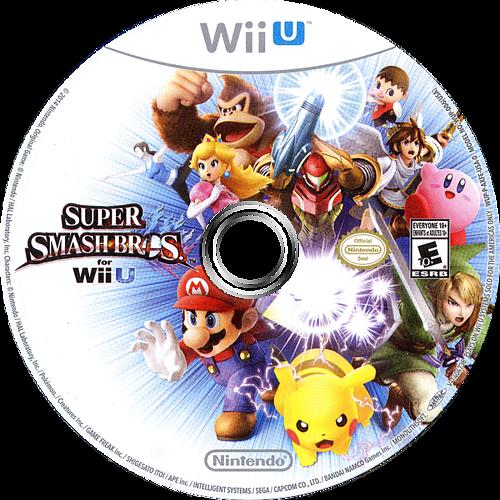 Super Smash Bros. for Wii U WiiU discM (AXFE01)