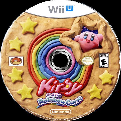 Kirby and the Rainbow Curse WiiU discM (AXYE01)
