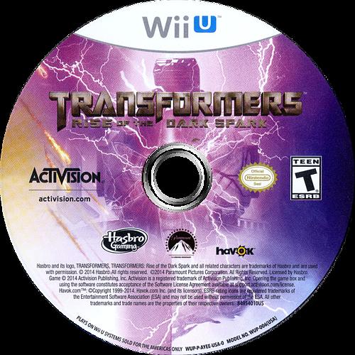Transformers: Rise of the Dark Spark WiiU discM (AYEE52)