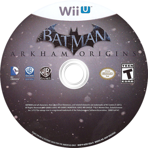 Batman: Arkham Origins Array discM (AZEEWR)