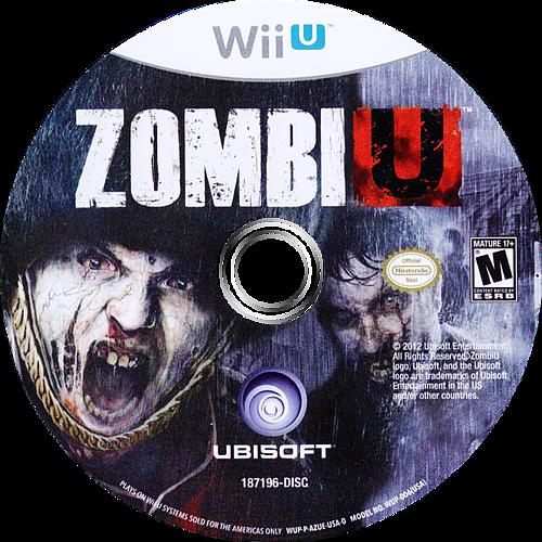 ZombiU WiiU discM (AZUE41)