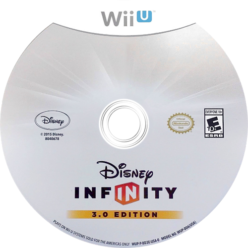 Disney Infinity 3.0 WiiU discM (BD3E4Q)