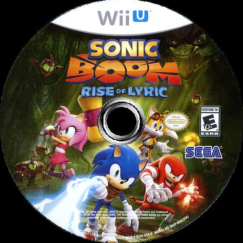 Sonic Boom: Rise of Lyric WiiU discM (BSSE8P)