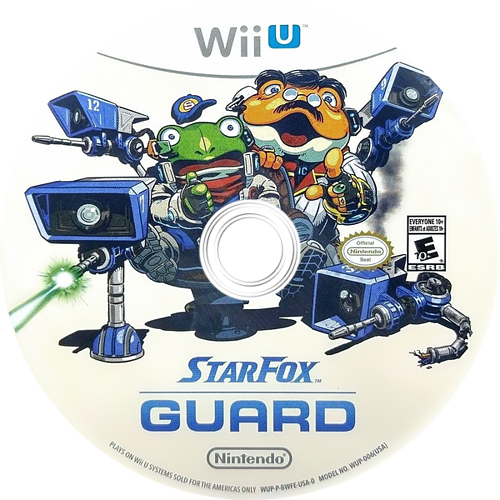 Star Fox Guard WiiU discM (BWFE01)