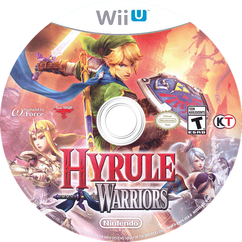 Hyrule Warriors Array discM (BWPE01)