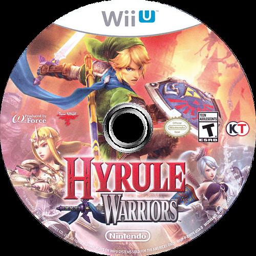 Hyrule Warriors WiiU discM (BWPE01)