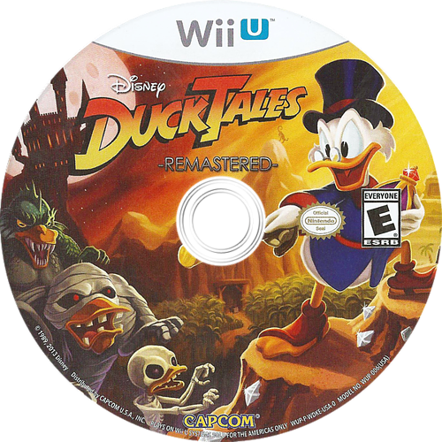 DuckTales: Remastered WiiU discM (WDKE08)