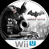 Batman Arkham City: Armored Edition WiiU disc (ABTEWR)