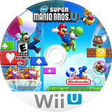 New Super Mario Bros. U WiiU disc (ARPE01)
