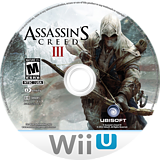 Assassin's Creed III WiiU disc (ASSE41)
