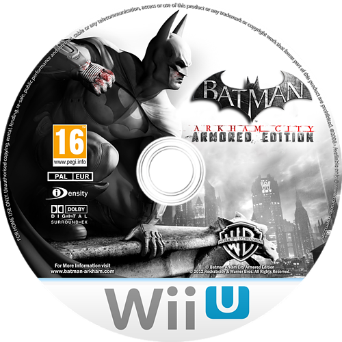 Batman Arkham City: Armoured Edition Array disccustomM (ABTPWR)