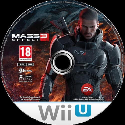 Mass Effect 3 - Special Edition WiiU disccustomM (AMEP69)