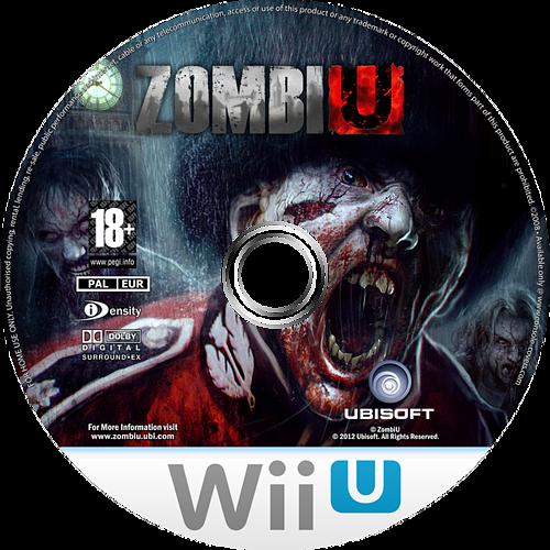 ZombiU WiiU disccustomM (AZUP41)