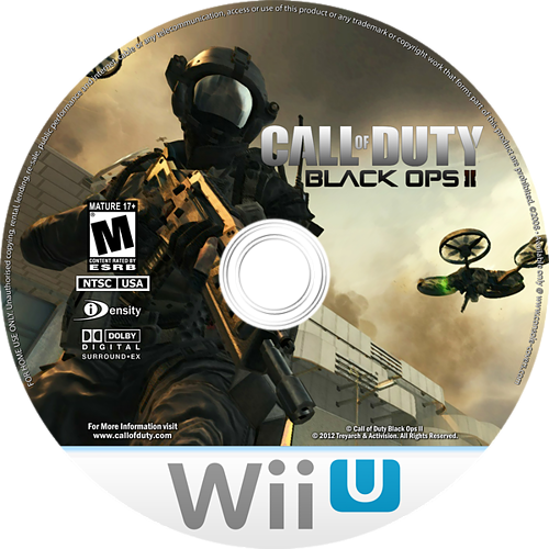 Call of Duty: Black Ops II WiiU disccustomM (AECE52)