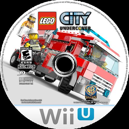 LEGO City Undercover WiiU disccustomM (APLE01)