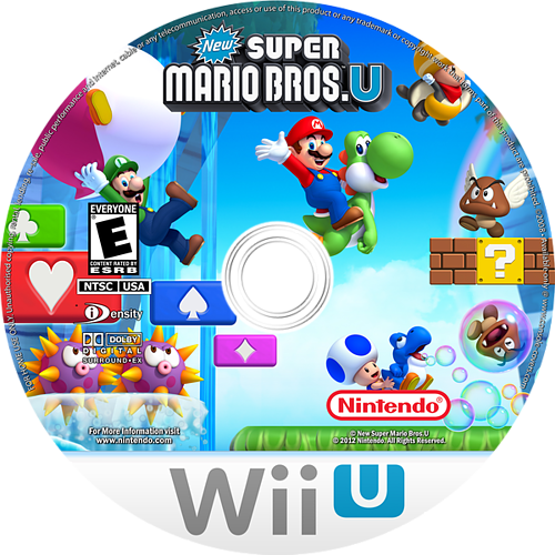 New Super Mario Bros. U WiiU disccustomM (ARPE01)