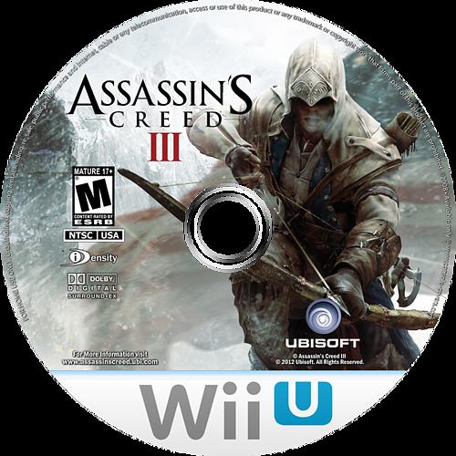 Assassin's Creed III WiiU disccustomM (ASSE41)