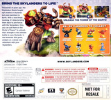 Skylanders Giants 3DS cover (AG6E)