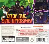 Nickelodeon Teenage Mutant Ninja Turtles 3DS cover (ANYE)