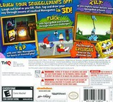 SpongeBob SquigglePants 3D 3DS cover (ASGE)