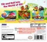 Super Monkey Ball 3D 3DS cover (ASME)