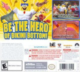 SpongeBob HeroPants 3DS cover (BPNE)