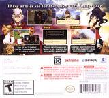 Langrisser: Re:Incarnation Tensei 3DS cover (BRGE)