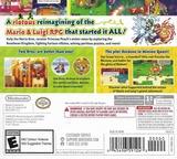 Mario & Luigi: Superstar Saga + Bowser's Minions 3DS cover (BRME)