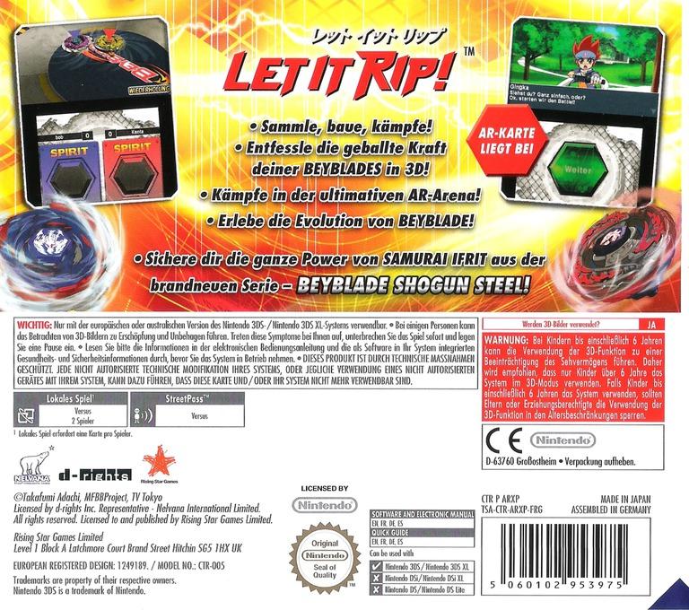 Beyblade Evolution 3DS backHQ (ARXP)