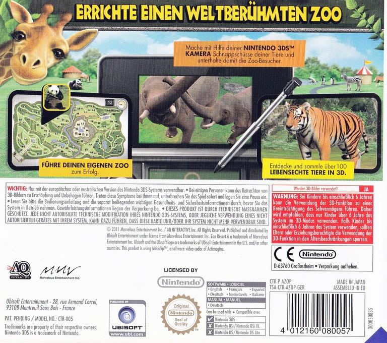 3DS backHQ (AZOP)